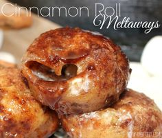 ~Cinnamon Roll Meltaways!