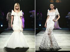 Love Marichu Tan's version of the filipino cultural dress. ( right)