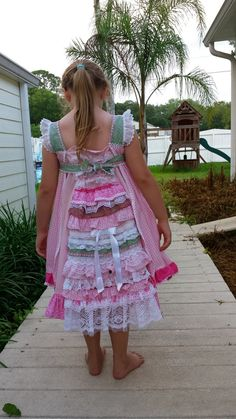 Hey, I found this really awesome Etsy listing at https://www.etsy.com/listing/245473865/feliz-dress-pink-floral-and-gingham-with