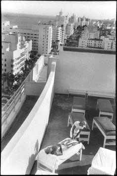 Henri Cartier-Bresson.  Florida. Miami 1957