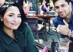 Demi and Wilmer out for lunch