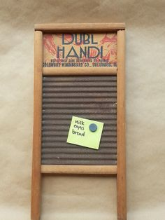 Distressed Vintage Washing board by TwoSweetTeas on Etsy, $25.00