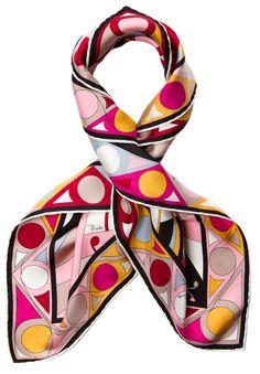 Pucci Scarf/Wrap @Michelle Flynn Flynn Coleman-HERS