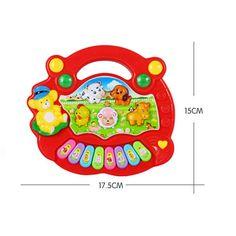 Random Color Baby Electronic Toys Developmental Cartoon Animal Farm Piano Toy Musical Instrument Educational Toy for Kids. Educational Toys For Preschoolers, Educational Toys For Toddlers, Kids Toys, Animals For Kids, Farm Animals, Toy Musical Instruments, Organ Music, Early Music, Electronic Toys