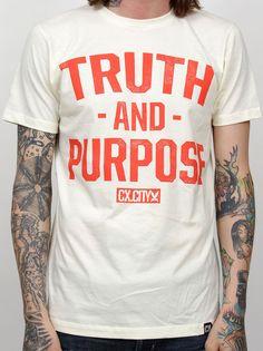 Image of TRUTH AND PURPOSE (Ice Vanilla)