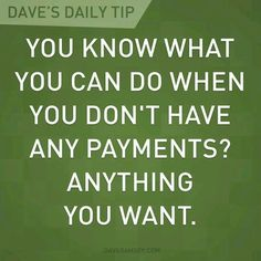 You have a wealth of options and opportunities!  Dave Ramsey