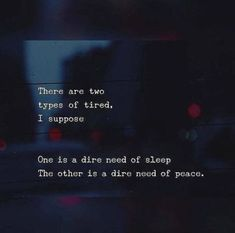 BEST LIFE QUOTES There are two types of tired.. —via https://ift.tt/2eY7hg4