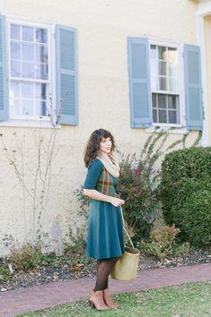 Wardrobe Wednesday   Virginia Dare Dress Co. Motherhood Style + Giveaway - Tori Watson Green Tights, Post Baby Body, Baby Gap, Dares, My Girl, Wednesday, Virginia, Giveaway, Midi Skirt