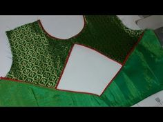 Very Beautiful And Easy Blouse Back Neck Design Cutting And Stitching/by akanksha fashion In this video i show you very beautiful and easy blouse back neck d. Pattu Saree Blouse Designs, Blouse Back Neck Designs, Fancy Blouse Designs, Sari Blouse, Gown Pattern, Neck Pattern, Sewing Stitches By Hand, Sewing Tutorials, Sewing Patterns