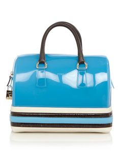 Furla Candy Bag Leather Stripe • de Bijenkorf