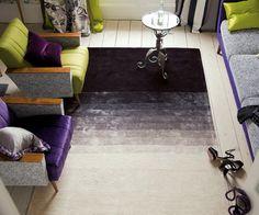 black rug ombre
