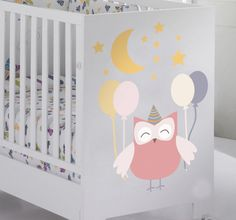 Decorate the babe crib of your child with this beautiful sticker! #Sticker #decoration #beautiful