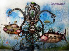 Underdalata.  Pintura feita por Andre Gonzaga Dalata, no XXXXX, em 2010.