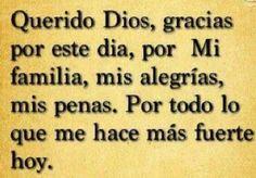 Querido Dios..