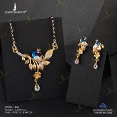 Gemstone Mangalsutra jewellery for Women by jewelegance. ✔ Certified Hallmark Premium Gold Jewellery At Best Price Gold Mangalsutra Designs, Diamond Mangalsutra, Diamond Jewellery, Pendant Jewelry, Gemstone Jewelry, Pendant Set, Matching Couple Bracelets, Emerald Ring Gold, Peacock Jewelry
