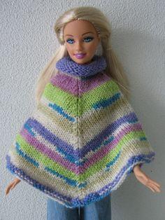 Poncho voor Barbie.
