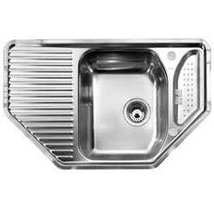 Corner sink, 800x500mm