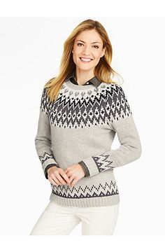 Talbots - Ombre Fair Isle Sweater | New Arrivals | | Fall clothes ...