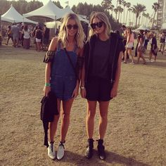 Stone Cold Fox designer Cyd Morris at Coachella in the  SCF Holy Tube