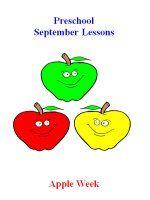 Preschool September – Apple Week Lesson Plans Preschool Monthly Themes, Preschool Programs, Preschool Lesson Plans, Preschool Age, Preschool Curriculum, Pre Reading Activities, Preschool Activities, Letter B Crafts, Grandparents Day Cards