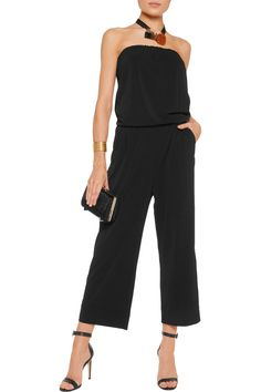 Shop on-sale By Malene Birger Mynni strapless stretch-jersey crepe jumpsuit. Browse other discount designer Jumpsuits & more on The Most Fashionable Fashion Outlet, THE OUTNET.COM