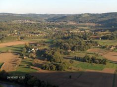 Uitzicht over Saint Léon s/V vanaf Côte de Jor - oktober 2007