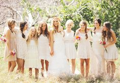 bridesmaids nature | ... one of my favorite parts of planning a wedding… bridesmaid dresses