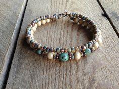 Boho bracelet bracelet rustique rustique bijoux bracelet Bohême turquoise africaine hippie bijoux Bohème bijoux boho chic féminin