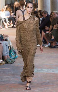 Alberta Ferretti-mfw-01 платье, плечи