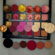 Dupes for the Huda beauty palette Eyeshadow Dupes, Makeup Dupes, Makeup Geek, Makeup Inspo, Makeup Addict, Makeup Inspiration, Makeup Products, Colourpop Eyeshadow Palette, Huda Beauty Eyeshadow