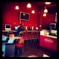 #WI-FI, internet cafe & #computer repairs in a cosy environment. #greenwich