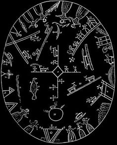 "Beaivi   ""Sami Shaman drum found in Nærøy, Norway"" -- Wikipedia"