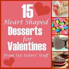 15 Heart Shaped Desserts for Valentines