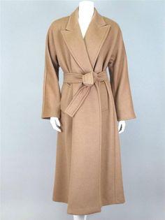 camel coat max mara style
