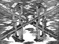 'Crossroads', engraving by István Orosz.