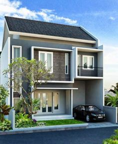 90 Best Desain Rumah Minimalis Sederhana 1 Lantai 2 Lantai Images Minimalist House Design House Design Minimalist Home