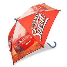 Disney Store Cars Lightning McQueen Umbrella For Kids