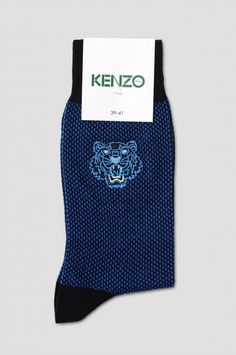 KENZO Tiger Blue Socks