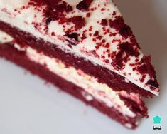 Bolo Red Velvet Receita, Bolo Fit, Cake Chocolate, Sweet Life, Cheesecake, Food And Drink, Popular, Cream, Drinks