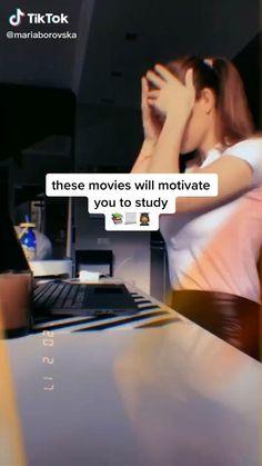 Netflix Movie List, Netflix Movies To Watch, Movie To Watch List, Good Movies To Watch, High School Life, Life Hacks For School, School School, Motivation Movies, Study Motivation
