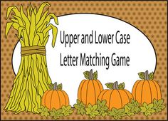Upper and Lower Case Letter Matching Game.