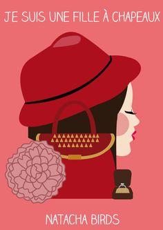 Je suis une fille à chapeau