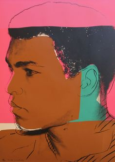 Muhammad Ali by Andy Warhol (1978)