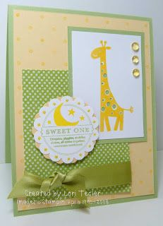 Inking Aloud: Sweet One Sketch using Stampin Up Wild about You retired stamp set.