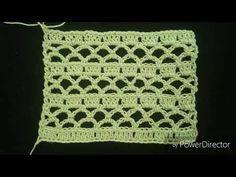 LIVRO DE 262 PONTOS DE CROCHE PONTO FANTASIA 14 HD - YouTube Crochet Motif Patterns, Baby Knitting Patterns, Crochet Designs, Crochet Stitches, Crochet Poncho, Crochet Top, Crochet Videos, Diy Home Crafts, Crochet For Beginners