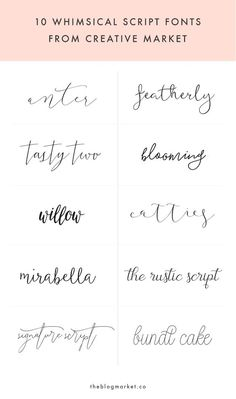 Whimsical Script Fonts from Creative Market Whimsical Scri. - Whimsical Script Fonts from Creative Market Whimsical Script Fonts From Creative Market // tattoo font inspiration tattoos small - Body Art Tattoos, New Tattoos, Small Tattoos, Cross Tattoos, Script Tattoos, Sleeve Tattoos, Tatoos, Mini Tattoos, Script Tattoo Fonts