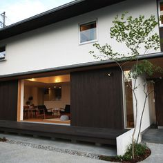 Pretty Room, Japanese Architecture, Small House Design, Facade, Entrance, Minimalism, Sweet Home, Exterior, Building
