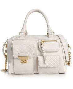 Calvin Klein Handbag, Bedford Leather Satchel - Calvin Klein - Handbags & Accessories - Macys
