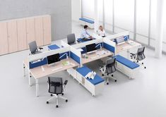 Gallery Kiron Desk system of Haworth Corporate Office Design, Office Interior Design, Office Interiors, Interior And Exterior, Office Cubicle, Office Desk, Open Space Office, System Furniture, Co Working