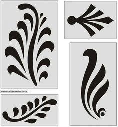 Ornamental design elements 6 450x486 ザックリと骨太なベクタークリップアート(eps,svg,dwg,gif)   Free Style